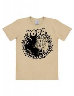 Star Wars Yoda T-Shirt Easyfit beige