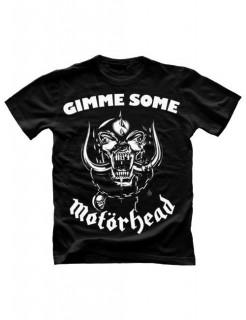 Motörhead Gimme Some T-Shirt schwarz-weiss