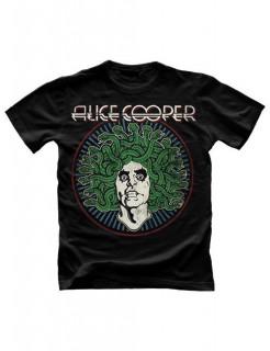 Alice Cooper Medusa Vintage T-Shirt schwarz