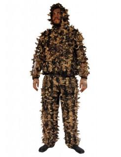 Wald Monster Halloween-Kostüm oliv-braun