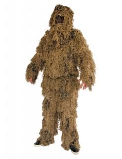 Moor-Monster Ungeheuer Halloween-Kostüm beige