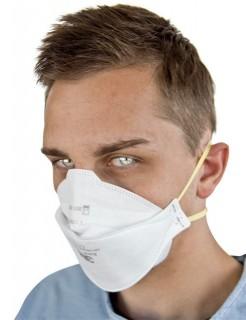 Atemschutzmaske OP-Maske Mundschutz AURA weiß