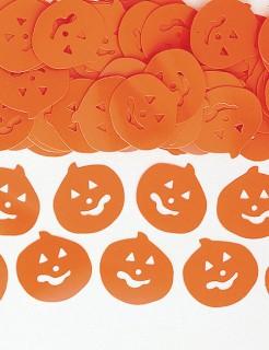 Halloween Party Konfetti Kürbisköpfe orange 14g