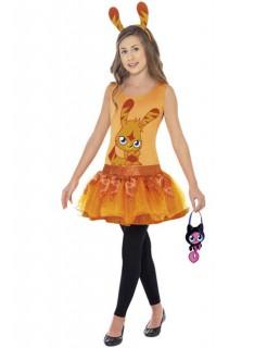 Moshi Monsters Katsuma Kinderkostüm Lizenzware orange