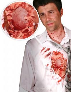 Digital Dudz iWound Schlagendes Herz Latex-Applikation Halloween rot