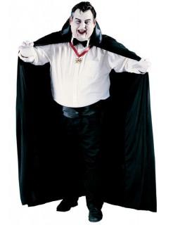 Vampir-Umhang XL Halloween-Cape schwarz 183cm