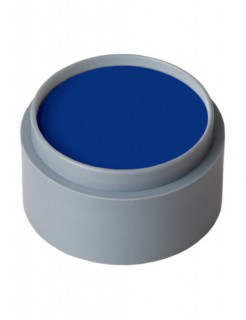 Grimas Aqua Make-Up Schminke dunkelblau 15ml