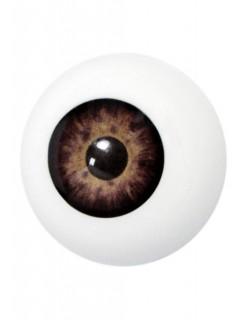 Künstliches Auge braun
