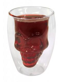 Totenkopf-Glas Halloween 175ml