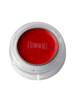 Grimas Make-Up Lippenstift Schminke kräftig rot 2,5g