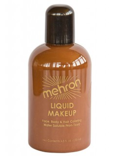 Mehron Paradise Flüssig-Make-Up braun 133 ml