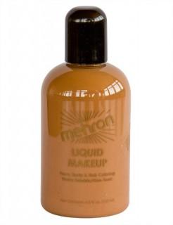 Mehron Paradise Make-Up Flüssig-Schminke hautfarben stark gebräunt 133ml