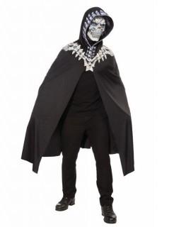 Skelett-Kostüm Halloweenkostüm schwarz-weiss