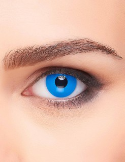 Kontaktlinsen blau