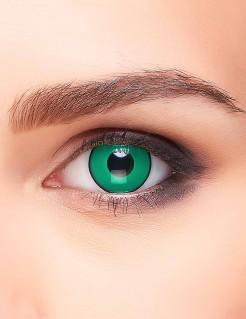 Kontaktlinsen grün