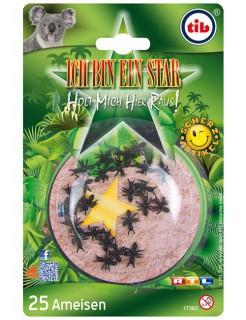 Dschungelcamp™ Ich bin ein Star-Holt mich hier raus Scherzartikel Ameisen 25 Stück schwarz