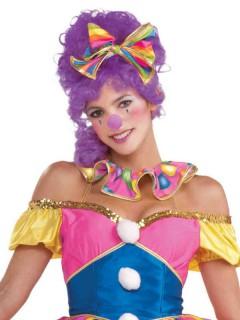 Clownsnase für Horrorclowns violett