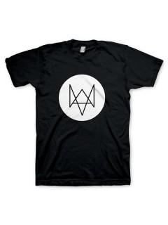 Watch Dogs Fox T-Shirt Lizenzware schwarz-weiss