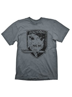 Metal Gear Solid Foxhound T-Shirt Lizenzware grau-schwarz
