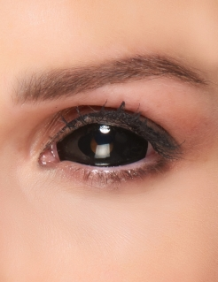 Sclera Kontaktlinsen Black Eye schwarz