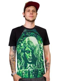 Kreepsville Gothic T-Shirt Night of the Living Dead schwarz-grün