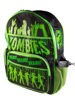 Kreepsville-Rucksack Zombies schwarz-grün