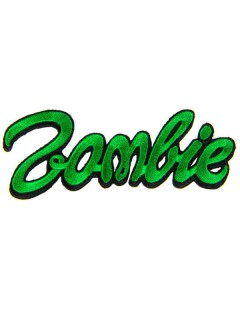Kreepsville Gothic Patch Zombie grün