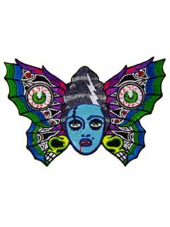 Kreepsville Gothic Aufnäher Schmetterling bunt 15cm