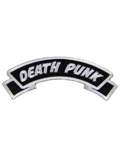 Kreepsville Gothic Patch Death Punk schwarz-weiss