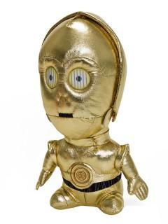 C3PO Plüschfigur goldfarben 23 cm
