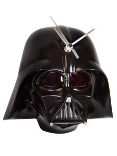 Darth Vader™-Wanduhr Star Wars™ mit Licht und Sound schwarz 20x11x20cm