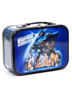 Star Wars Metall-Box The Empire Strikes Back Lizenzware silber-bunt