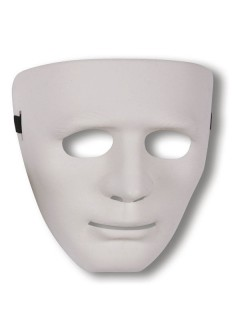 Gesichtsmaske Phantom weiss