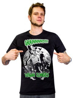 Vegan T-Shirt Vegan Zombies Grains