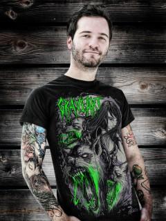 GraveArt Wolves T-Shirt schwarz