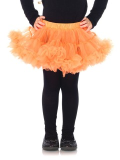 Tutu für Kinder Halloween-Accessoire orange