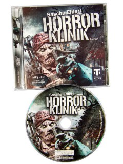 Horrorklinik Roman Audio-Book Hörbuch Hörspiel-CD bunt