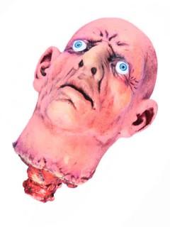 Abgehackter Kopf Halloween Party-Deko hautfarben-rot 20x7x15cm
