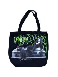 Kreepsville Gothic-Handtasche Vampira schwarz-grün