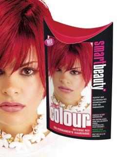 Smart Beauty Haartönung semi-permanent rot 50 ml