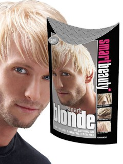 Smart Beauty Blonde Blondierung Haarfarbe for Men blond