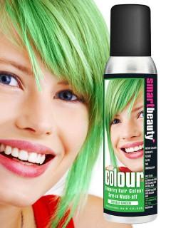 Smart Beauty auswaschbares Haarspray grün 135 ml