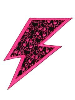 Kreepsville Gothic Patch Blitz pink