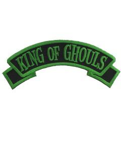 Kreepsville Gothic Aufnäher Patch King of Ghouls schwarz-grün