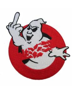 Kreepsville-Aufnäher Ghostbastard rot-weiss
