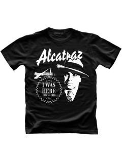 Alcatraz Prison Wear I Was Here Funshirt schwarz-weiss