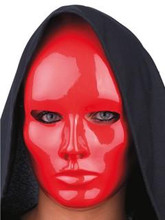 Theatermaske Halloweenmaske rot