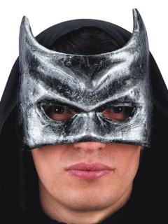 Höllenwächter-Maske Halloween-Accessoire grau-weiss