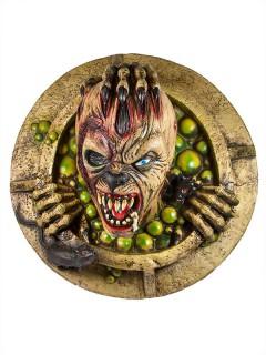 Kanalmonster Halloween-Deko Figur bunt 47cm