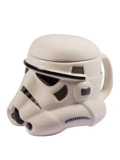 Star Wars™ Storm Trooper Becher schwarz-weiss